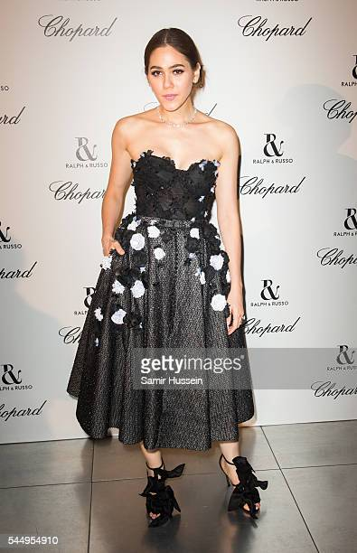 Champoo Araya A Hargate attends the Ralph Russo And Chopard Host Dinner as part of Paris Fashion Week on July 4 2016 in Paris France