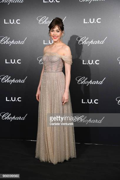 Champoo Arya attends the Chopard Gentleman's Night during the 71st annual Cannes Film Festival at Martinez Hotel on May 9 2018 in Cannes France