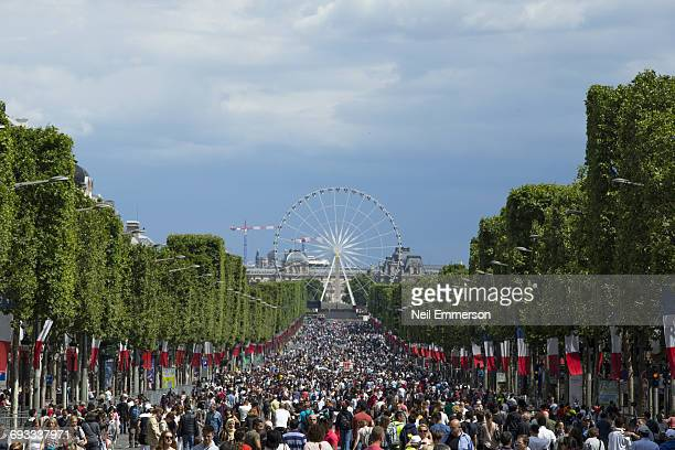 Champs Elysees on Bastille Day 2016