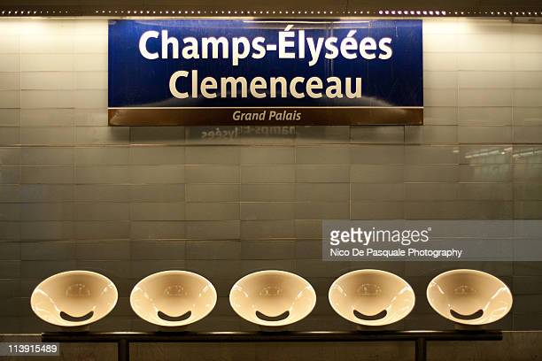 Champs elysees - subway station, Paris