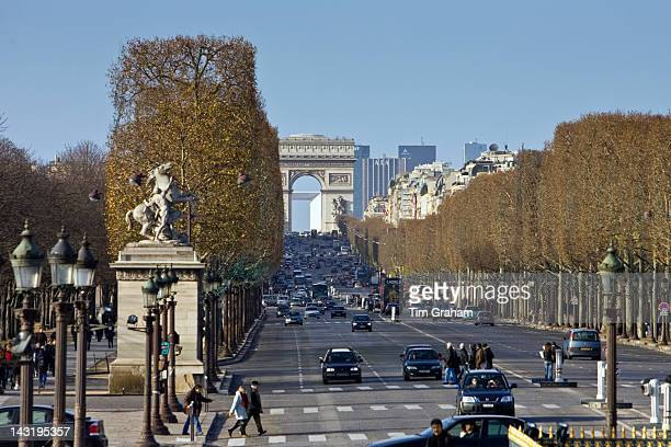 ChampslysTes to the Arc de Triomphe Paris France