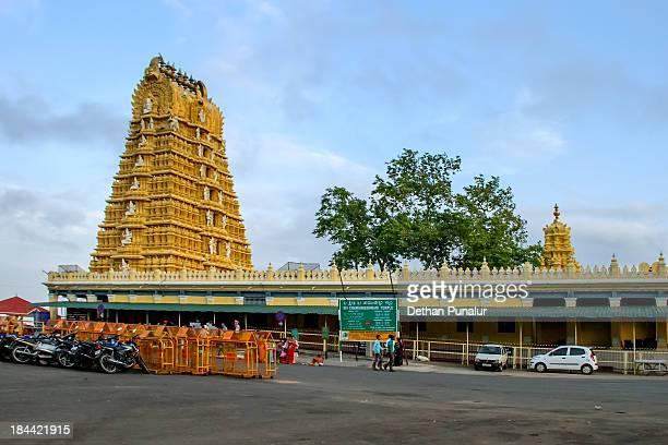 chamundeshwari temple, mysore - mysore - fotografias e filmes do acervo