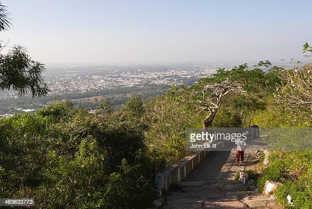 Chamundi Hill, hillside trail