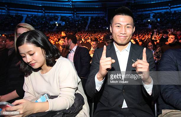 Chan Jung Sung 'The Korean Zombie' during the UFC Fight Night at the Olympic Park Gymnastics Arena on November 28 2015 in Seoul South Korea