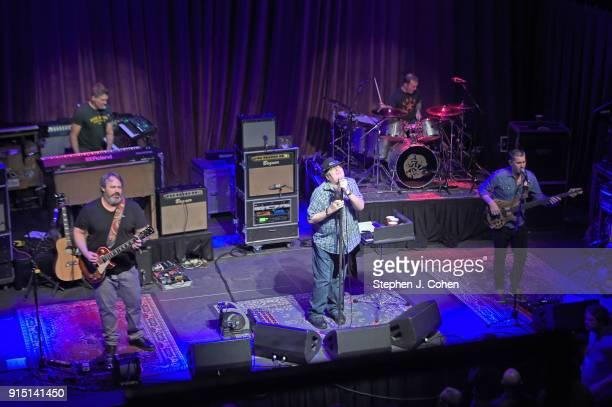 Chan KinchlaBen Wilson John Popper Brendan Hill and Tad Kinchla of Blues Traveler performs at Mercury Ballroom on February 6 2018 in Louisville...