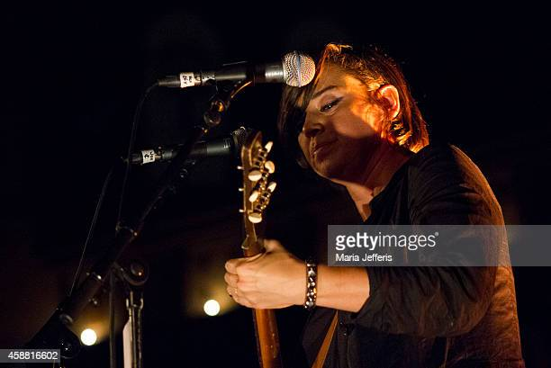 Chan Marshall of Cat Power performs on stage at the Union Chapel on November 11, 2014 in London, United Kingdom