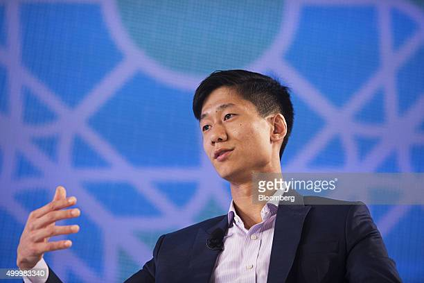 Chan Park general manager of Southeast Asia at Uber Technologies Inc speaks at the Bloomberg ASEAN Business Summit in Bangkok Thailand on Friday Dec...