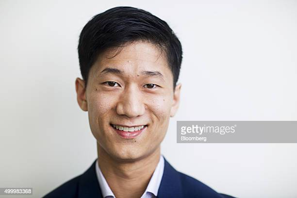 Chan Park general manager of Southeast Asia at Uber Technologies Inc poses for a photograph following a Bloomberg Television interview at the...