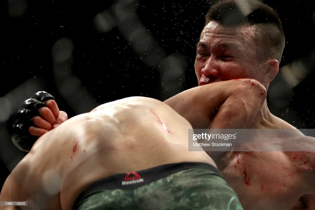 UFC Fight Night The Korean Zombie v Rodriguez : News Photo