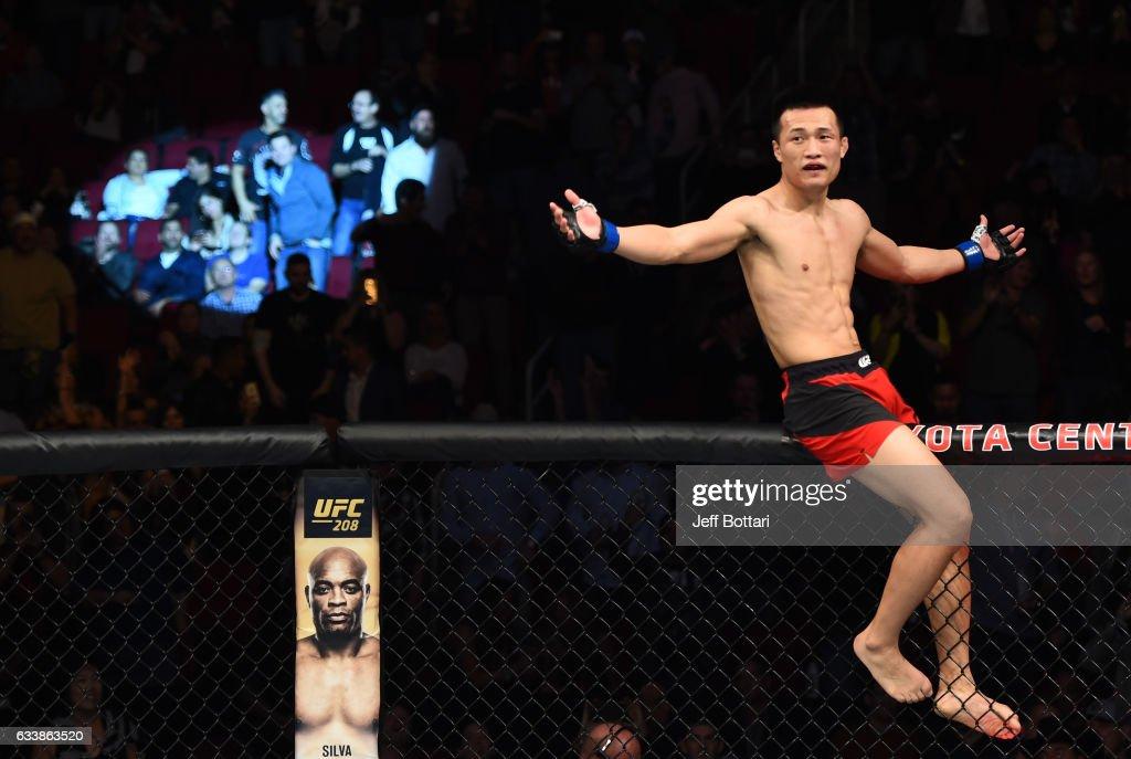 UFC Fight Night: Bermudez v Korean Zombie : News Photo