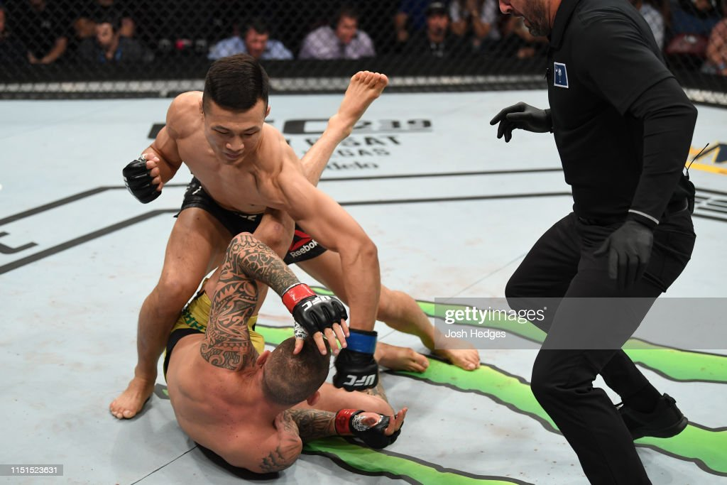 UFC Fight Night: Moicano v The Korean Zombie : News Photo