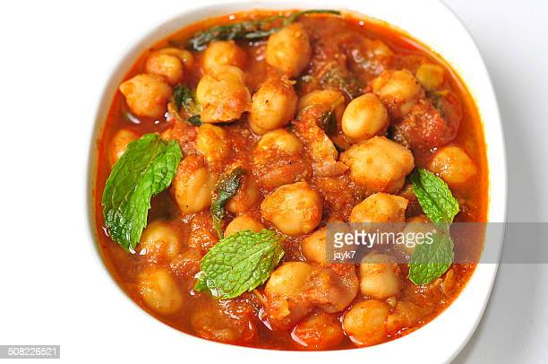 chana masala - north indian food stock photos and pictures