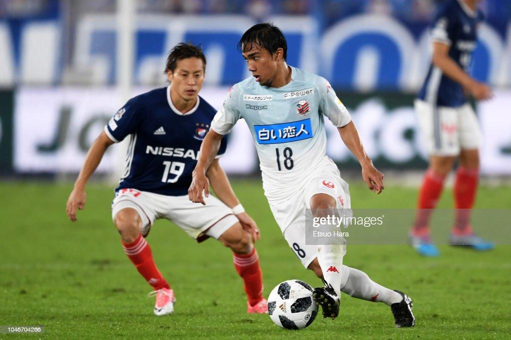 Yokohama F.Marinos v Consadole Sapporo - J.League J1 : ニュース写真