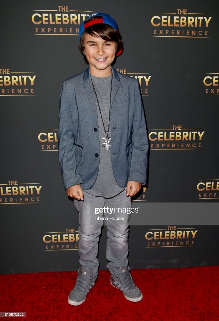 Chance Hurstfield attends The Celebrity Experience at Hilton Universal Hotel on July 16, 2017 in Los Angeles, California.
