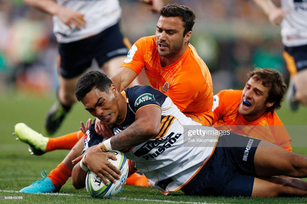 Super Rugby Rd 10 - Brumbies v Jaguares : News Photo