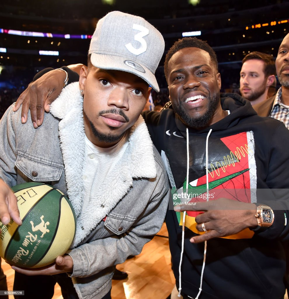 A Bounty of Celebrities at the NBA All Star Game