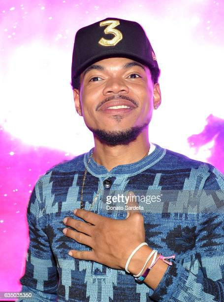 Chance the Rapper attends GQ and Chance The Rapper Celebrate the Grammys in Partnership with YouTube at Chateau Marmont on February 12 2017 in Los...