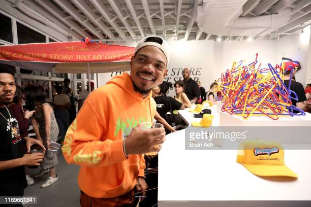 Chance the Rapper attends the Joe Freshgoods X Snapple Pop-Up Shop VIP Preview Event on August 22, 2019 in New York City.