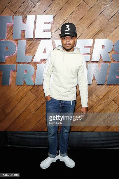 Chance The Rapper attends The Players' Tribune Summer Party at No Vacancy on July 12 2016 in Los Angeles California