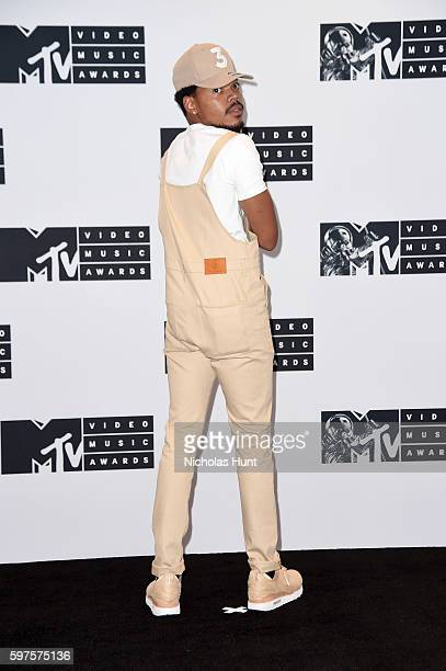 Chance the Rapper attends the Press Room at the 2016 MTV Video Music Awards at Madison Square Garden on August 28 2016 in New York City