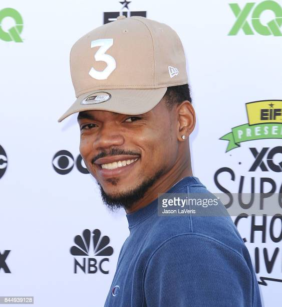 Chance The Rapper attends XQ Super School Live at The Barker Hanger on September 8 2017 in Santa Monica California