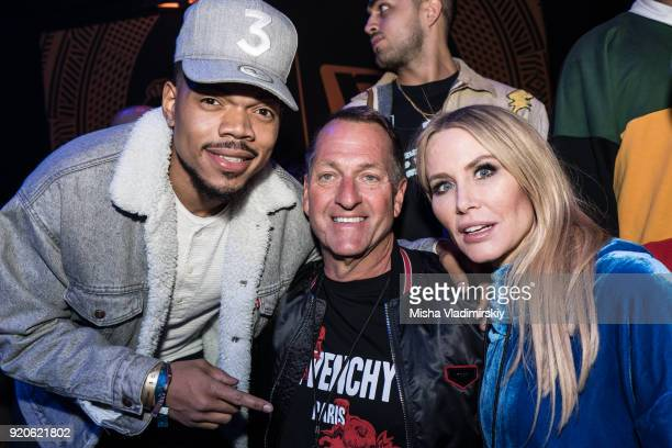 Chance the Rapper Chris and Lindsey Koch pose for photos at New Era All  Star Event 5cd1381c75e