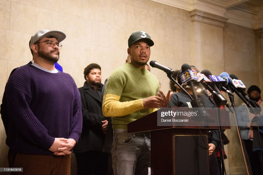 IL: Chance The Rapper Holds Press Conference At City Hall Regarding Chicago Mayoral Election