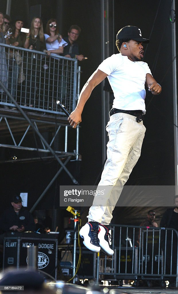 Chance the Rapper performs during the 2016 Outside Lands Music And Arts Festival at Golden Gate Park on August 7, 2016 in San Francisco, California.