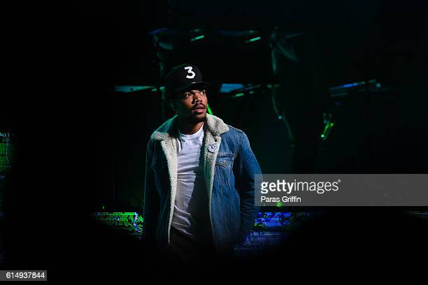 Chance The Rapper performs in concert at Fox Theater on October 8 2016 in Atlanta Georgia