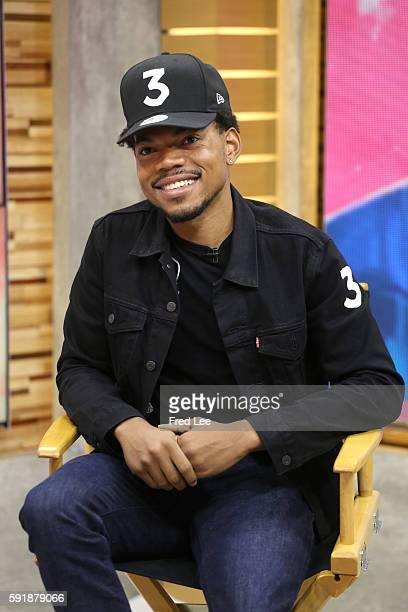 AMERICA Chance the Rapper performs live on 'Good Morning America' 8/15/16 airing on the ABC Television Network CHANCE