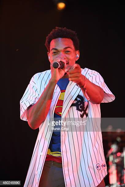 Chance the Rapper performs on stage at Randall's Island on June 7 2014 in New York United States