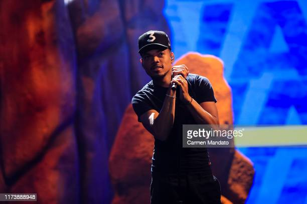 Chance The Rapper performs onstage at the BET Hip Hop Awards 2019 at Cobb Energy Center on October 5 2019 in Atlanta Georgia