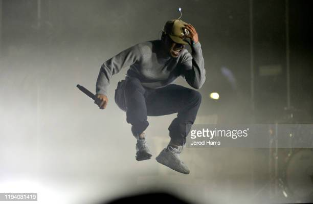 Chance the Rapper performs onstage during Rolling Loud Fueled by West Coast Cure Los Angeles 2019 - Day 1 on December 14, 2019 in Los Angeles,...