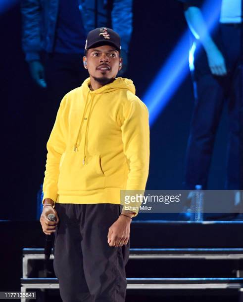 Chance the Rapper performs onstage during the 2019 iHeartRadio Music Festival at T-Mobile Arena on September 21, 2019 in Las Vegas, Nevada.