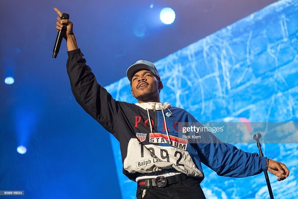 Chance the Rapper performs onstage during weekend one, day two of Austin City Limits Music Festival at Zilker Park on October 7, 2017 in Austin, Texas.