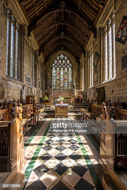 Chancel at Tideswell Church, Derbyshire
