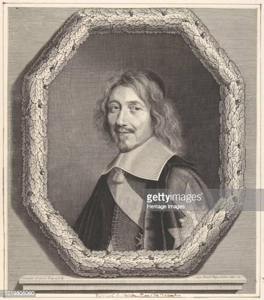 Chancelier Michel IV Le Tellier 1661 Artist Robert Nanteuil