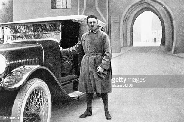 ADOLF HITLER Chanceller of Germany 19331945 Photographed after his release from prison at Landsberg am Lech Germany 20 December 1945 Photograph...