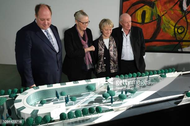 Chancellery Minister Helge Braun architect Charlotte Frank Federal Office for Civil Engineering and Regional Planning President Petra Wesseler and...
