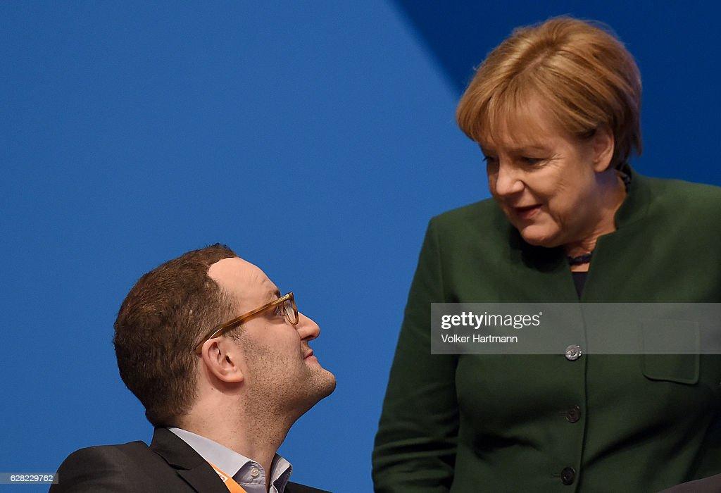 Christian Democrats (CDU) Hold Federal Convention : Nachrichtenfoto