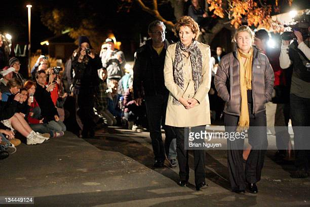 Chancellor Katehi walks what students called a 'walk of shame.' Katehi was in the building for several hours until an agreement was reached for...