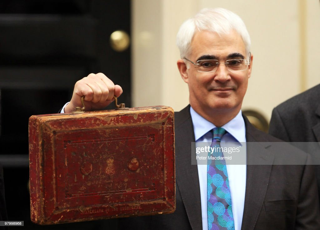 Alistair Darling To Deliver His Final Budget Before The General Election
