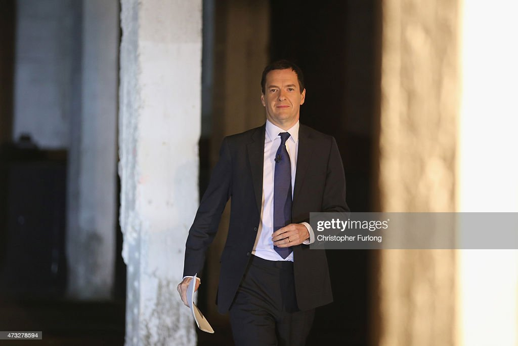 Chancellor Gives Speech On The Creation Of The Northern Powerhouse : News Photo