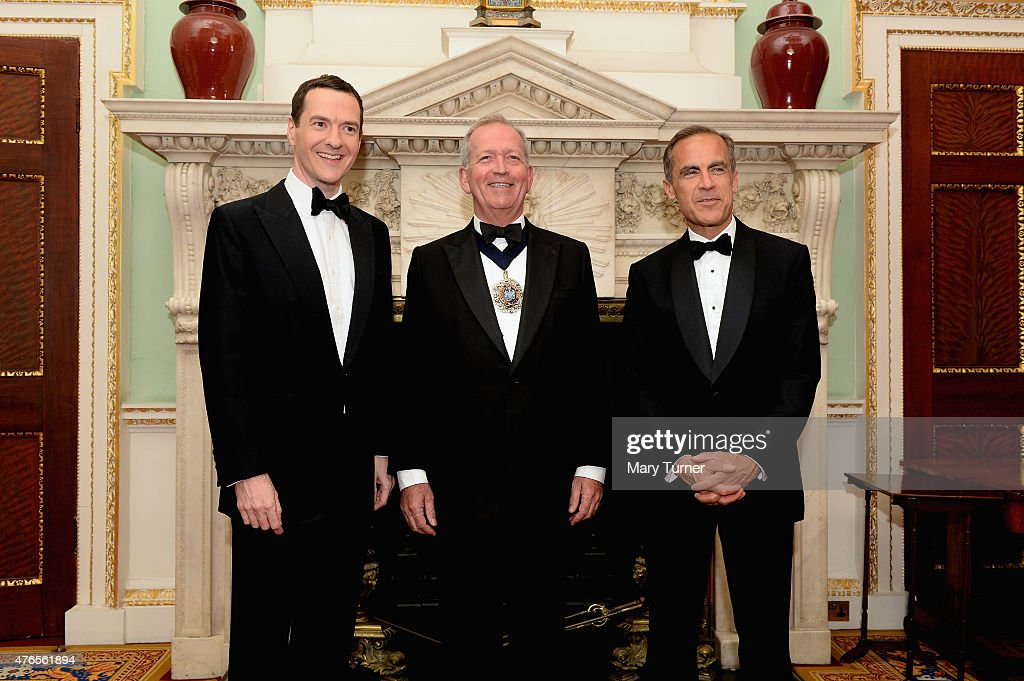 George Osborne Attends The Bankers And Merchants Dinner
