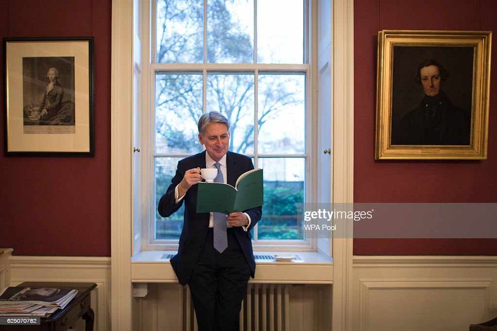 The Chancellor Of The Exchequer On The Eve Of His First Autumn Statement
