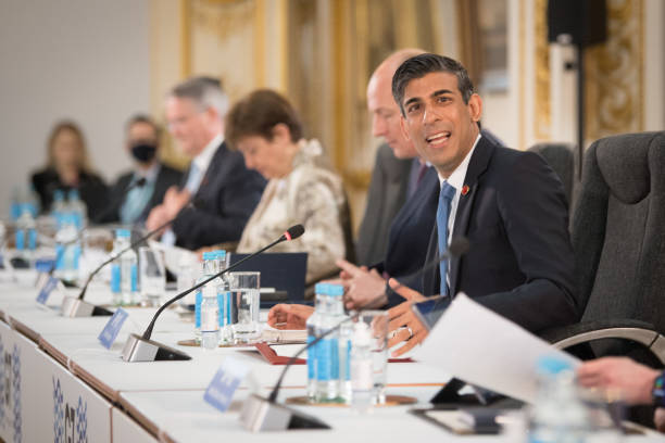 GBR: G7 Finance Ministers Meet In London - Day 1