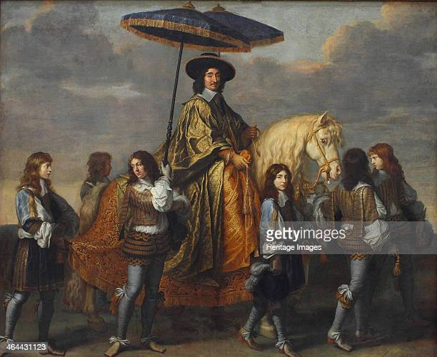 Chancellor Séguier at the Entry of Louis XIV into Paris 1660 Found in the collection of the Louvre Paris