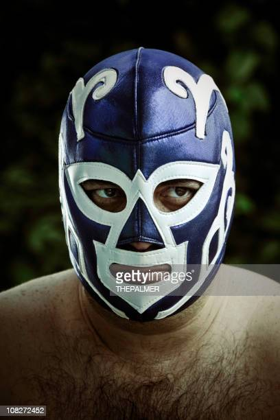 Die Mexikanisches Wrestling figther chanco