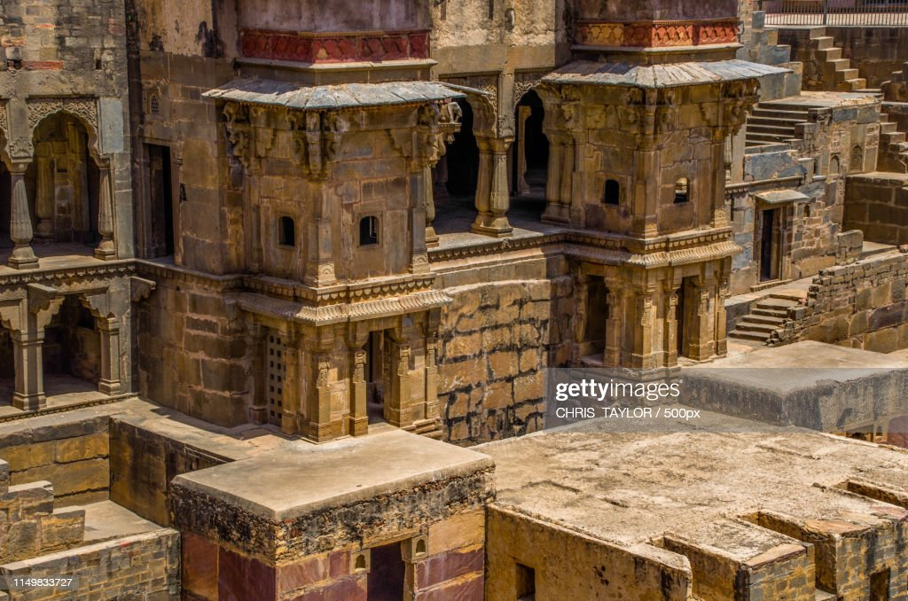 Chand Baori : Stock Photo