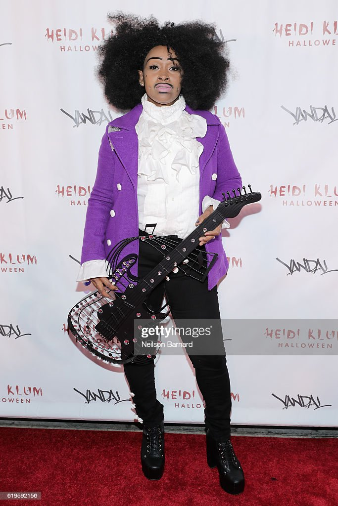Chandelier attends Heidi Klum's 17th Annual Halloween Party sponsored by SVEDKA Vodka at Vandal on October 31, 2016 in New York City.